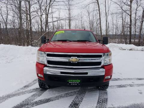 2011 Chevrolet Silverado 1500 for sale at L & R Motors in Greene ME