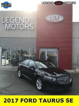 2017 Ford Taurus for sale at Legend Motors of Ferndale in Ferndale MI