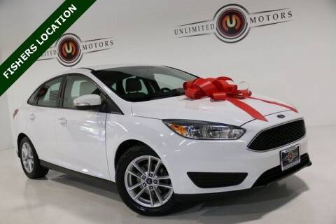 2015 Ford Focus for sale at Unlimited Motors in Fishers IN