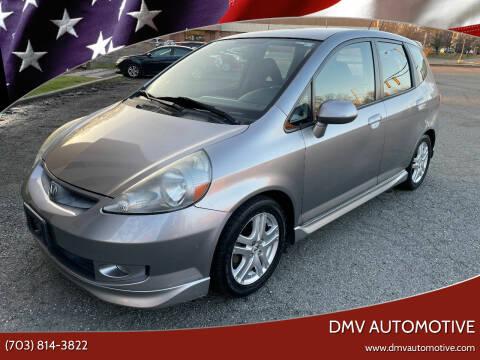 2008 Honda Fit for sale at DMV Automotive in Falls Church VA