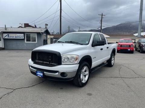 2008 Dodge Ram Pickup 1500 for sale at Orem Auto Outlet in Orem UT
