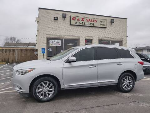 2013 Infiniti JX35 for sale at C & S SALES in Belton MO