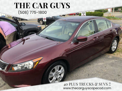 2008 Honda Accord for sale at The Car Guys in Hyannis MA