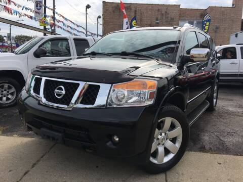 2011 Nissan Armada for sale at Jeff Auto Sales INC in Chicago IL