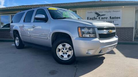 2013 Chevrolet Suburban for sale at Eagle Care Autos in Mcpherson KS
