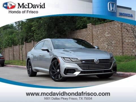 2019 Volkswagen Arteon for sale at DAVID McDAVID HONDA OF IRVING in Irving TX