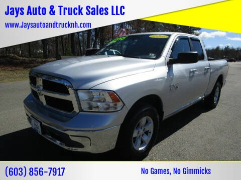 2016 RAM Ram Pickup 1500 for sale at Jays Auto & Truck Sales LLC in Loudon NH