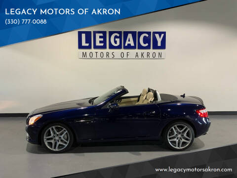 2014 Mercedes-Benz SLK for sale at LEGACY MOTORS OF AKRON in Akron OH