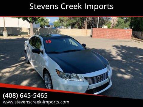 2015 Lexus ES 350 for sale at Stevens Creek Imports in San Jose CA