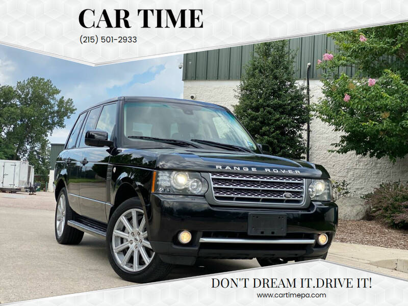 2011 Land Rover Range Rover for sale at Car Time in Philadelphia PA