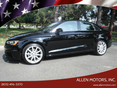 2015 Audi A3 for sale at Allen Motors, Inc. in Thousand Oaks CA