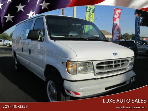 1997 Ford E-250 for sale at Luxe Auto Sales in Modesto CA