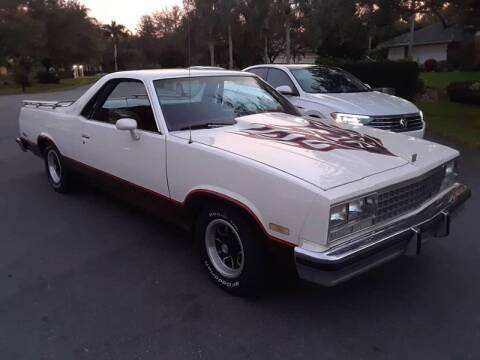 1984 GMC Caballero for sale at Car Mart Leasing & Sales in Hollywood FL