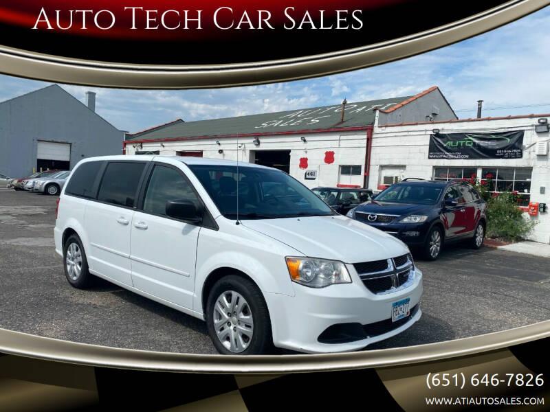 2014 Dodge Grand Caravan for sale at Auto Tech Car Sales in Saint Paul MN