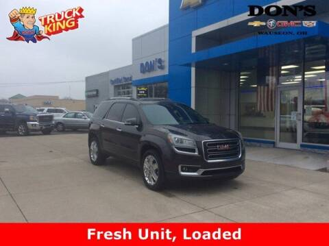 2017 GMC Acadia Limited for sale at DON'S CHEVY, BUICK-GMC & CADILLAC in Wauseon OH
