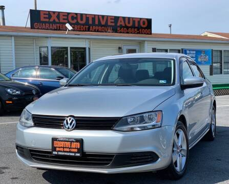 2011 Volkswagen Jetta for sale at Executive Auto in Winchester VA