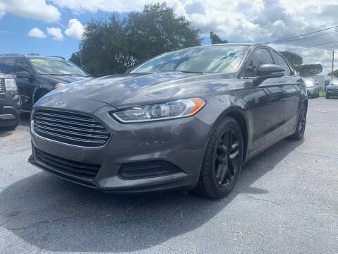 2016 Ford Fusion for sale at Bargain Auto Sales in West Palm Beach FL