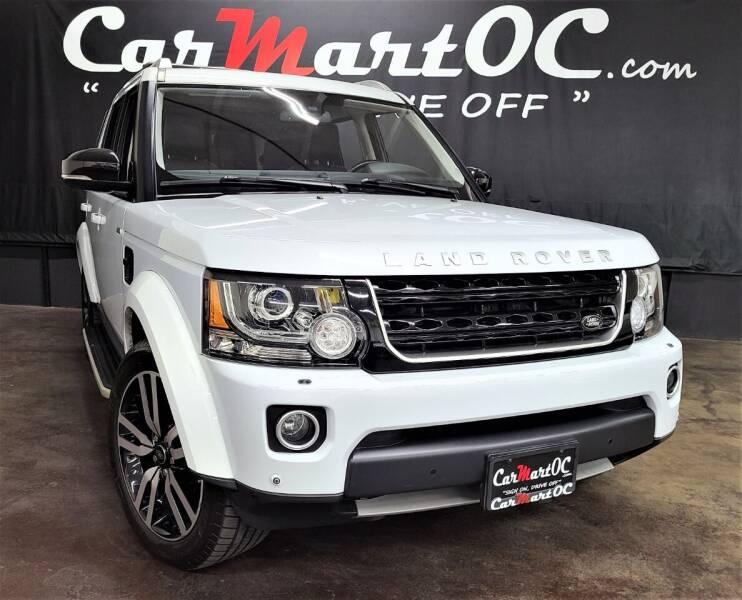 2016 Land Rover LR4 for sale at CarMart OC in Costa Mesa, Orange County CA