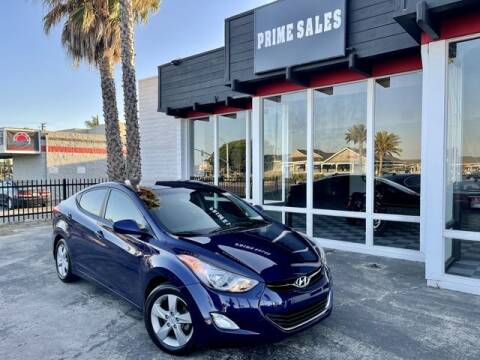 2013 Hyundai Elantra for sale at Prime Sales in Huntington Beach CA