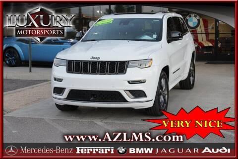 2020 Jeep Grand Cherokee for sale at Luxury Motorsports in Phoenix AZ