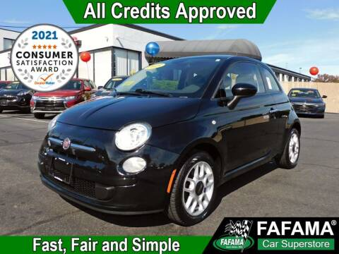 2015 FIAT 500 for sale at FAFAMA AUTO SALES Inc in Milford MA