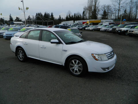 2008 Ford Taurus for sale at J & R Motorsports in Lynnwood WA