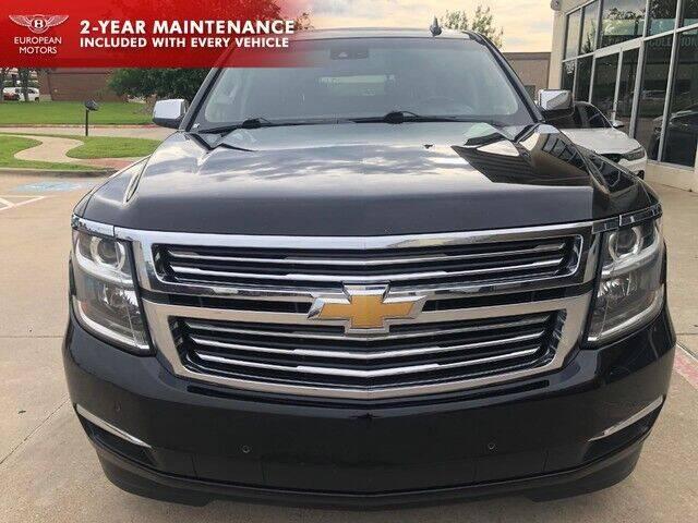 2017 Chevrolet Tahoe for sale at European Motors Inc in Plano TX