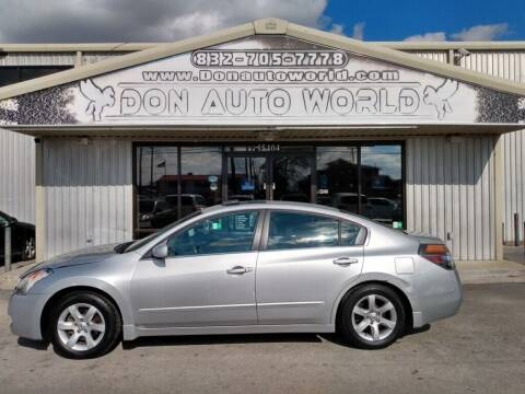 2008 Nissan Altima for sale at Don Auto World in Houston TX