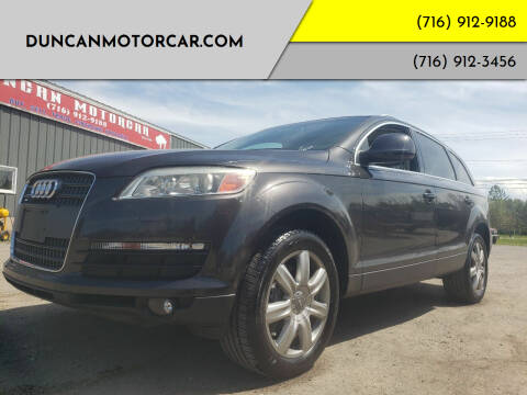 2007 Audi Q7 for sale at DuncanMotorcar.com in Buffalo NY