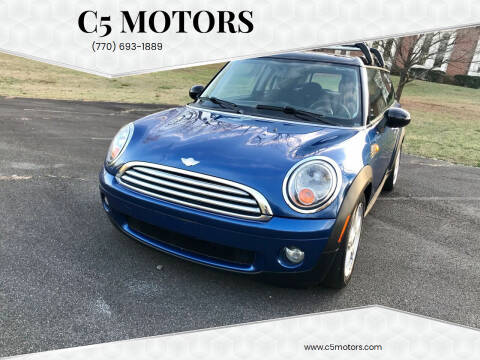 2008 MINI Cooper Clubman for sale at C5 Motors in Marietta GA