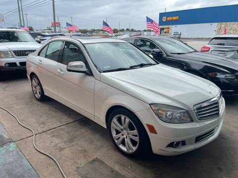 2009 Mercedes-Benz C-Class for sale at P J Auto Trading Inc in Orlando FL