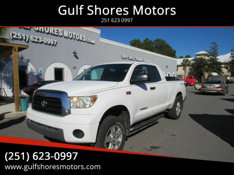 2009 Toyota Tundra for sale at Gulf Shores Motors in Gulf Shores AL