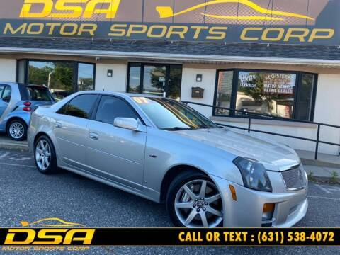 2007 Cadillac CTS-V for sale at DSA Motor Sports Corp in Commack NY