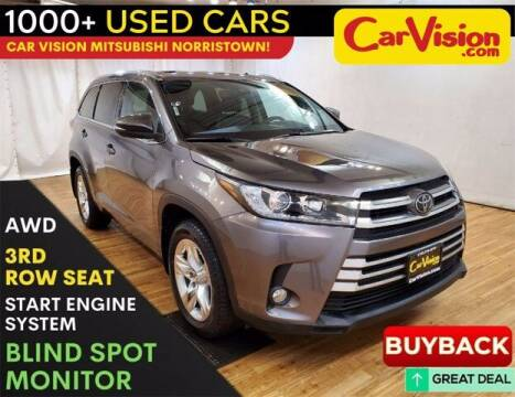 2017 Toyota Highlander for sale at Car Vision Buying Center in Norristown PA