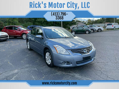 2012 Nissan Altima for sale at Rick's Motor City, LLC in Springfield MA