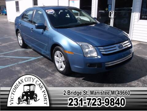 2009 Ford Fusion for sale at Victorian City Car Port INC in Manistee MI
