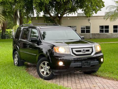 2009 Honda Pilot for sale at Citywide Auto Group LLC in Pompano Beach FL
