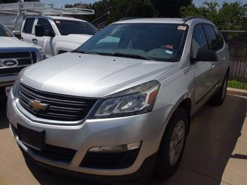 2016 Chevrolet Traverse for sale at Auto Haus Imports in Grand Prairie TX