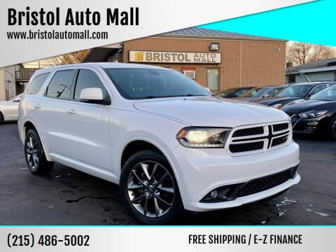 2014 Dodge Durango for sale at Bristol Auto Mall in Levittown PA