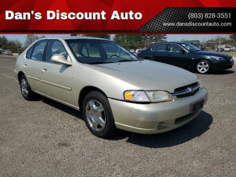 1999 Nissan Altima for sale at Dan's Discount Auto in Gaston SC