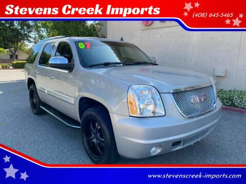 2007 GMC Yukon for sale at Stevens Creek Imports in San Jose CA