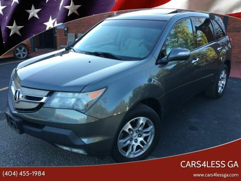 2007 Acura MDX for sale at Cars4Less GA in Alpharetta GA