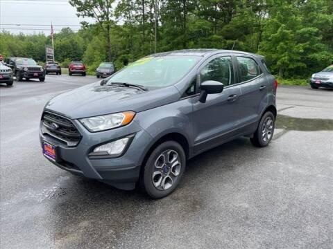 2018 Ford EcoSport for sale at North Berwick Auto Center in Berwick ME