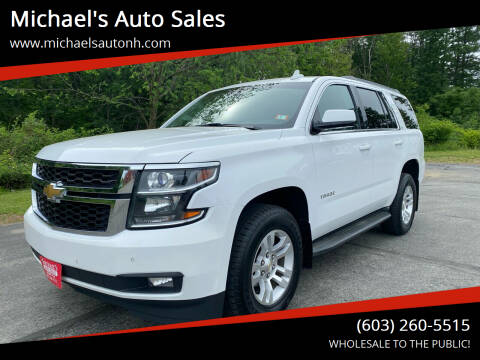2015 Chevrolet Tahoe for sale at Michael's Auto Sales in Derry NH