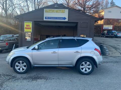 2006 Nissan Murano for sale at Martino Motors in Pittsburgh PA