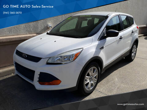 2016 Ford Escape for sale at Go Time Automotive in Sarasota- Bradenton FL