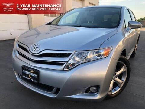 2015 Toyota Venza for sale at European Motors Inc in Plano TX