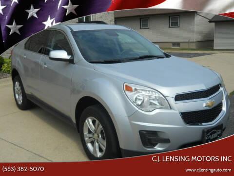 2014 Chevrolet Equinox for sale at C.J. Lensing Motors Inc in Decorah IA