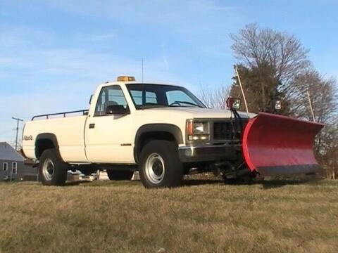 2000 GMC C/K 2500 Series for sale at Groesbeck TRUCK SALES LLC in Mount Clemens MI