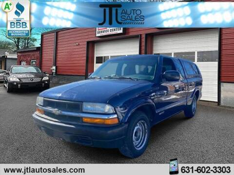 2001 Chevrolet S-10 for sale at JTL Auto Inc in Selden NY